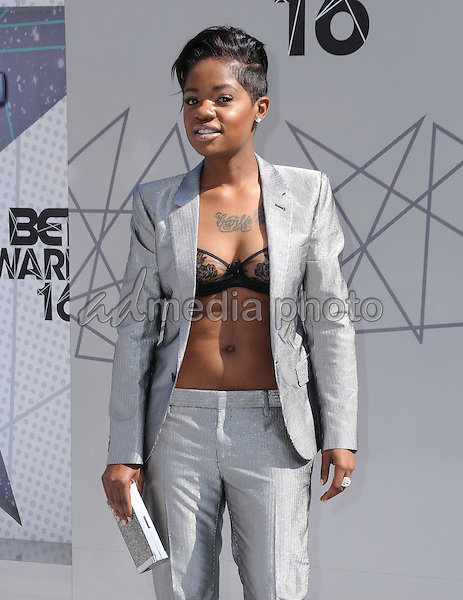26 June 2016 - Los Angeles. Bre-Z. Arrivals for the 2016 BET Awards held at the Microsoft Theater. Photo Credit: Birdie Thompson/AdMedia