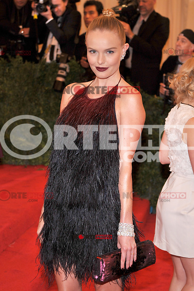 Kate Bosworth at the 'Schiaparelli And Prada: Impossible Conversations' Costume Institute Gala at the Metropolitan Museum of Art on May 7, 2012 in New York City. ©mpi03/MediaPunch Inc.