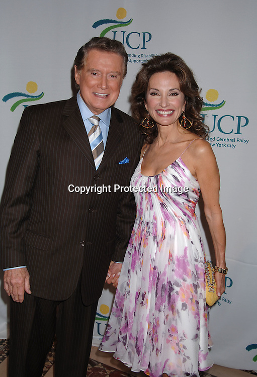 Regis Philbin and Susan Lucci ..at The 5th Annual Women Who Care Luncheon benefitting ..United Cerebral Palsy of New York City on May 4, 2006 ..at Cipriani 42nd Street...Robin Platzer, Twin Images