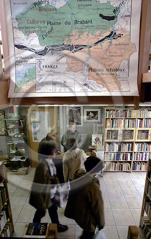 REDU - BELGIUM - 26 SEPTEMBER 2003-- Redu a small village in the La Haute-Lesse region of the Belgian Ardennes. -- Redu has been a 'Booktown' since 1984 and has 23 bookshops and several artshops. --PHOTO: JUHA ROININEN / EUP-IMAGES