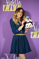 Violetta aka Martina Stoessel during a ' photocall ' Violetta Live 2015 ' in Brussels - Belgium