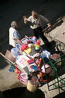 Street vendors chatting, Istanbul, Turkey
