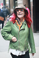 APR 04 Patricia Field Seen In New York City