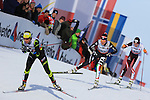 03/01/2014, Dobbiaco, Toblach - 2014 Cross Country Ski World Cup Tour de ski <br /> Debora AGREITER in action during the Ladies 15 km Free Pursuit in Dobbiaco, Toblach, Italy on 03/01/2014.