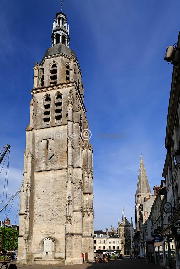 France, Loir-et-Cher (41), Vendôme, tour Saint-Martin // France, Loir et Cher, Vendome, Saint Martin Tower