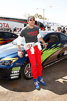 LOS ANGELES - APR 5: Michael Trucco at the 35th annual Toyota Pro/Celebrity Race Press Practice Day on April 5, 2011 in Long Beach, California