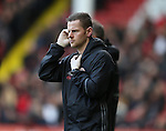 Rhys Hughes Physiotherapist for Sheffield Utd during the English League One match at Bramall Lane Stadium, Sheffield. Picture date: December 31st, 2016. Pic Simon Bellis/Sportimage