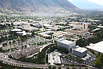 1309-22 1666<br /> <br /> 1309-22 BYU Campus Aerials<br /> <br /> Brigham Young University Campus, Provo, Sunrise, Tanner Building TNRB, Hinckley Alumni and Visitors Center HC<br /> <br /> September 6, 2013<br /> <br /> Photo by Jaren Wilkey/BYU<br /> <br /> © BYU PHOTO 2013<br /> All Rights Reserved<br /> photo@byu.edu  (801)422-7322