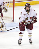 Dru Burns (BC - 7) - The visiting St. Lawrence University Saints defeated the Boston College Eagles 4-0 on Friday, January 15, 2010, at Conte Forum in Chestnut Hill, Massachusetts.