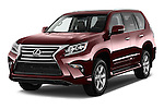 2017 Lexus GX 460 5 Door SUV Angular Front stock photos of front three quarter view