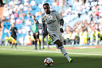 Real Madrid&rsquo;s Vinicius Jr. during La Liga match between Real Madrid and Villarreal CF at Santiago Bernabeu Stadium in Madrid, Spain. May 05, 2019. (ALTERPHOTOS/A. Perez Meca)<br /> Liga Campionato Spagna 2018/2019<br /> Foto Alterphotos / Insidefoto <br /> ITALY ONLY