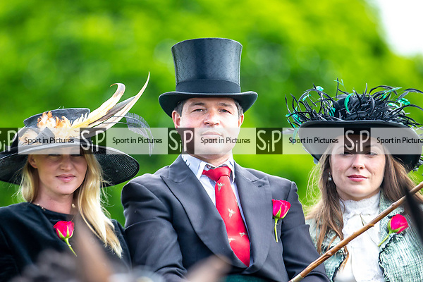 Day 5. Royal Windsor Horse Show. Windsor. Berkshire. UK.  Driving. The Champagne Laurent Perrier meet of the British Driving Society.  Ben Turner driving Todd and Ted High Flyer.13/05/2018. ~ MANDATORY Credit Elli Birch/Sportinpictures - NO UNAUTHORISED USE - 07837 394578