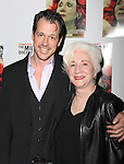 Darren Pettie & Olympia Dukakis.attending the After Party for the Off-Broadway Roundabout Theatre Company Production of  'The Milk Train Doesn't Stop Here Anymore' at the Laura Pels Theatre in New York City..