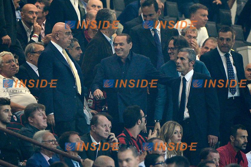 Adriano Galliani, Silvio Berlusconi Milan<br /> Milano 20-09-2014 Stadio Giuseppe Meazza - Football Calcio Serie A Milan - Juventus. Foto Giuseppe Celeste / Insidefoto