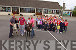 Ballincrossig national school in Ballyduff will be holing their annual sports day on June 15th from 1pm onwards with some old style games including a donkey derby. Pictured were Dan and Katie Mahoney, Shane, Emma and Kennneth O'Sullivan with teachers, patrents and pupils in the background.