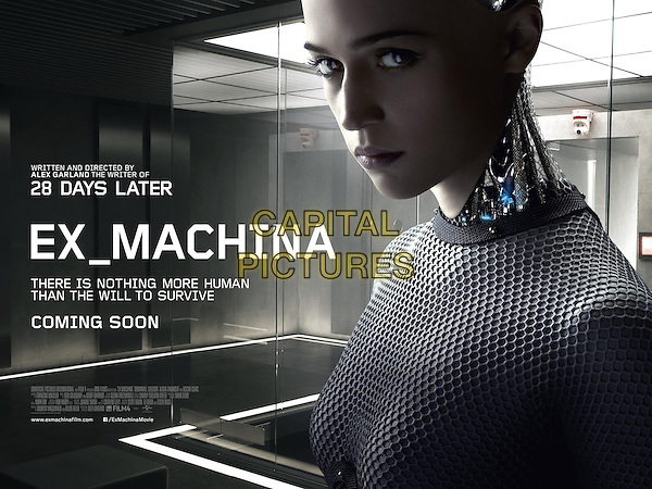 POSTER ART<br /> in Ex Machina (2015) <br /> *Filmstill - Editorial Use Only*<br /> CAP/NFS<br /> Image supplied by Capital Pictures