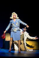 "Pedro Mari Sanchez and Luis Fernandez Alves during theater play ""La Asamblea de las Mujeres"" at Teatro La Latina in Madrid. August 23 2016. (ALTERPHOTOS/Borja B.Hojas) /NORTEPHOTO.COM"