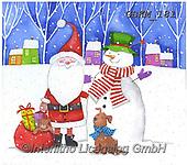 Kate, CHRISTMAS SANTA, SNOWMAN, WEIHNACHTSMÄNNER, SCHNEEMÄNNER, PAPÁ NOEL, MUÑECOS DE NIEVE, paintings+++++Christmas page 61,GBKM181,#x#