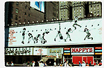 Theatre Marquee for 'Gilda Radner LIVE from New York' on June 1, 1980 at the Winter Garden Theatre in New York City.<br /><br />GILDA RADNER   1980<br />LIVE FROM NEW YORK AT THE WINTER GARDEN<br />THEATRE MARQUEE, NYC.<br />CREDIT ALL USES