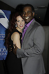 Opening Night with Norm Lewis (All My Children) and Sierra Boggess who are starring in Phantom of the Opera as the first black Phantom starting on May 12 on Broadway at the Majestic Theatre, New York City, New York  (Photo by Sue Coflin/Max Photos)