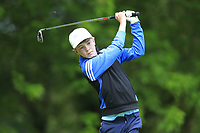 Paddy Quill (Cork) during the Connacht U14 Boys Amateur Open, Ballinasloe Golf Club, Ballinasloe, Galway,  Ireland. 10/07/2019<br /> Picture: Golffile | Fran Caffrey<br /> <br /> <br /> All photo usage must carry mandatory copyright credit (© Golffile | Fran Caffrey)
