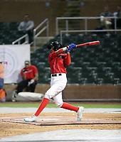 Anderson Machado participates in the MLB International Showcase at Salt River Fields on November 12-14, 2019 in Scottsdale, Arizona (Bill Mitchell)