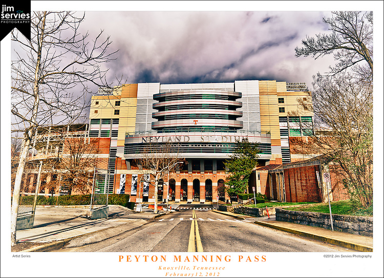 Peyton Manning Pass | Knoxville Tennessee | February 2012