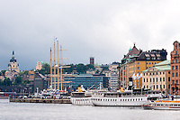 Sweden, Stockholm. City Center.