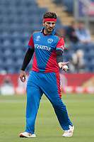 Hamid Hassan (Afghanistan) during Afghanistan vs Sri Lanka, ICC World Cup Cricket at Sophia Gardens Cardiff on 4th June 2019