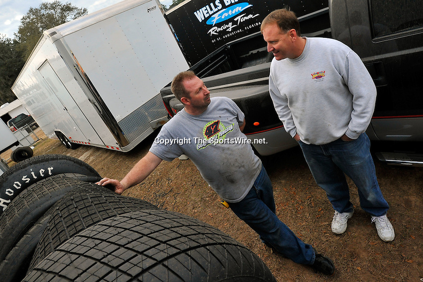 Jan 29, 2010; 4:47:58 PM; Waynesville, GA., USA; The Southern All Stars Racing Series running The Super Bowl of Racing VI at Golden Isles Speedway.  Mandatory Credit: (thesportswire.net)