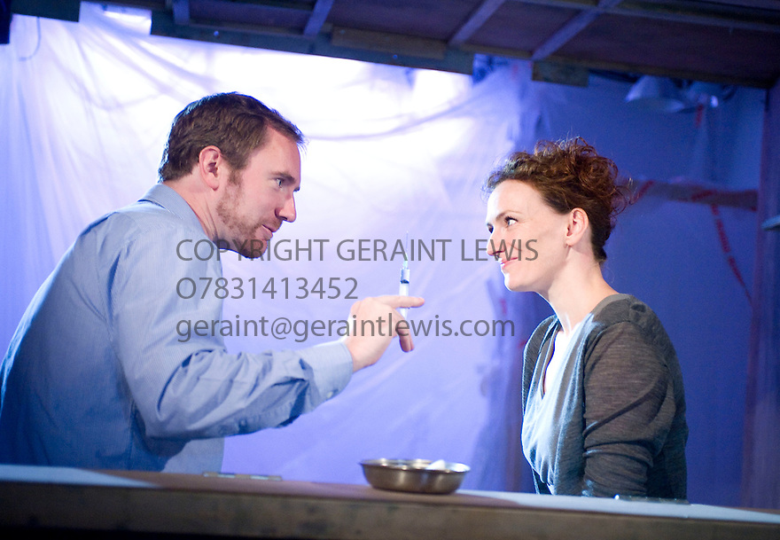 Vanya by Sam Holocroft.inspired by Anton Chekhov's Uncle Vanya.Directed by Natalie Abrahami.With Simon Wilson as Astrov, Susie Trayling as Yelena.Opens at The GateTheatre on  2/9/09. CREDIT Geraint Lewis