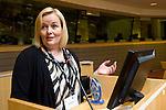 BRUSSELS - BELGIUM - 15 November 2012 -- European Training Foundation (ETF) conference on - Towards excellence in entrepreneurship and enterprise skills. -- Good Practice Marathon II - Finland: Elina Oksanen-Ylikoski, InnoOmnia. -- PHOTO: Juha ROININEN /  EUP-IMAGES.
