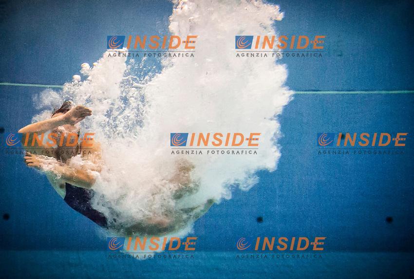 Beatrice Atzei (ITA)   Qualificazioni trampolino 3m femminile   Campionati Italiani assoluti di tuffi indoor    Torino 04/04/2014    Piscina Stadio Monumentale  Nuoto Tuffi    Foto Giorgio Perottino / Insidefoto