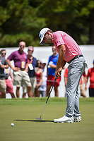Charles Howell III (USA) watches his putt on 3 during round 2 of the 2019 Tour Championship, East Lake Golf Course, Atlanta, Georgia, USA. 8/23/2019.<br /> Picture Ken Murray / Golffile.ie<br /> <br /> All photo usage must carry mandatory copyright credit (© Golffile | Ken Murray)