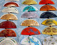 Spanien, Andalusien, Sevilla: Faecher | Spain, Andalusia,Seville: fan