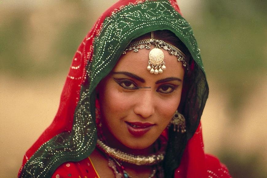 Portrait of indian women
