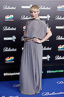 Soraya Arnelas attends 40 Principales awards photocall  2012 at Palacio de los Deportes in Madrid, Spain. January 24, 2013. (ALTERPHOTOS/Caro Marin) /NortePhoto