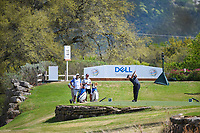 Jon Rahm (ESP) hits his tee shot on 11 during day 2 of the World Golf Championships, Dell Match Play, Austin Country Club, Austin, Texas. 3/22/2018.<br /> Picture: Golffile | Ken Murray<br /> <br /> <br /> All photo usage must carry mandatory copyright credit (&copy; Golffile | Ken Murray)