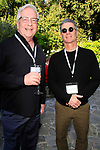 LOS ANGELES - APR 9: Dan Kitowski, Charles Isaacs at The Actors Fund's Edwin Forrest Day Party and to commemorate Shakespeare's 453rd birthday at a private residence on April 9, 2017 in Los Angeles, California