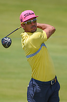 Rafael Cabrera Bello (ESP) watches his tee shot on 11 during round 4 of the AT&T Byron Nelson, Trinity Forest Golf Club, Dallas, Texas, USA. 5/12/2019.<br /> Picture: Golffile   Ken Murray<br /> <br /> <br /> All photo usage must carry mandatory copyright credit (© Golffile   Ken Murray)