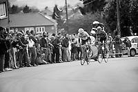 Liege-Bastogne-Liege 2012.98th edition..Daniel Martin up Saint-Nicolas