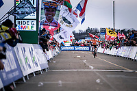 Ryan kamp (NED)  wins the Men's U23 race and becomes World Champion <br /> <br /> UCI 2020 Cyclocross World Championships<br /> Dübendorf / Switzerland<br /> <br /> ©kramon