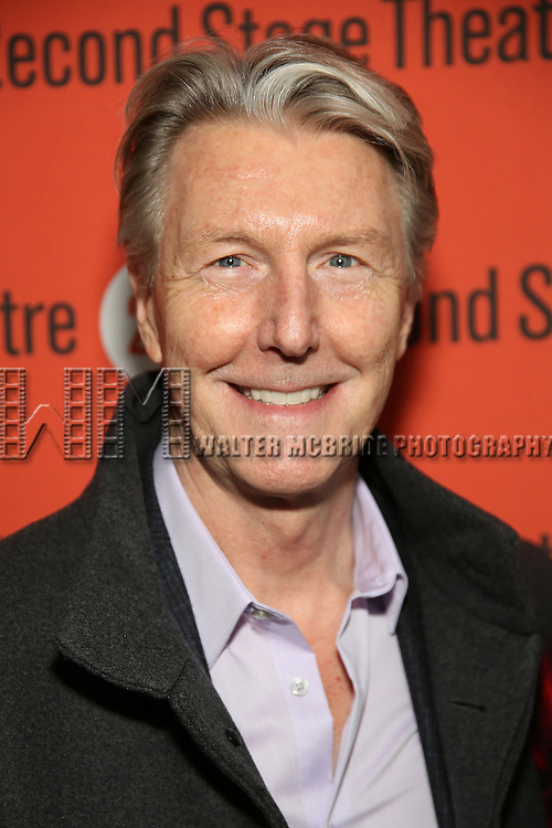 Byron Jennings attends the Off-Broadway Opening Night performance of 'Man From Nebraska' at the Second StageTheatre on February 15, 2017 in New York City.