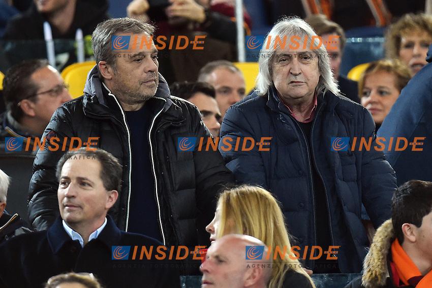 Claudio Amendola, Enrico Vanzina <br /> Roma 02-03-2015 Stadio Olimpico Football Calcio Serie A AS Roma - Juventus. Foto Andrea Staccioli / Insidefoto