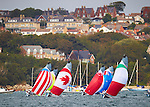 London Paralympic Games 2012. Sailing at Weymouth. 1 person 2.4 meter Class, 2 person Scud 18 Class and 3 person Sonar Class