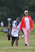 Phoebe Yao (TPE) on the 2nd fairway during Round 3 of the Ricoh Women's British Open at Royal Lytham &amp; St. Annes on Saturday 4th August 2018.<br /> Picture:  Thos Caffrey / Golffile<br /> <br /> All photo usage must carry mandatory copyright credit (&copy; Golffile | Thos Caffrey)
