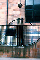 C.R. Mackintosh: Glasgow School of Art. Detail of ironwork.