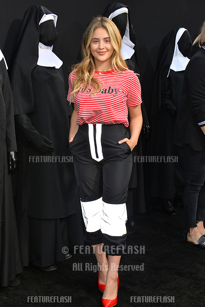 "LOS ANGELES, CA. September 04, 2018: Lauren Giraldo at the world premiere of ""The Nun"" at the TCL Chinese Theatre, Hollywood."