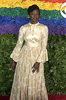 NEW YORK, NEW YORK - JUNE 09: Danai Gurira attends the 73rd Annual Tony Awards at Radio City Music Hall on June 09, 2019 in New York City. <br /> CAP/MPI/IS/JS<br /> ©JSIS/MPI/Capital Pictures
