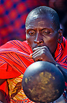 Much drinking of home brewed honey beer is done at the initiation into manhood of the Massai Moran. Many of  the older maasai men drink themselves to the point where they can't stand up.<br />